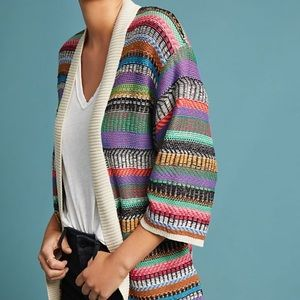 Anthropologie Maeve Ashbury Knit Cardigan